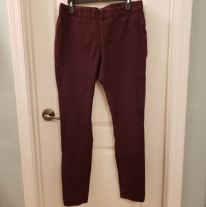 NYDJ size 10 Maroon Leggings